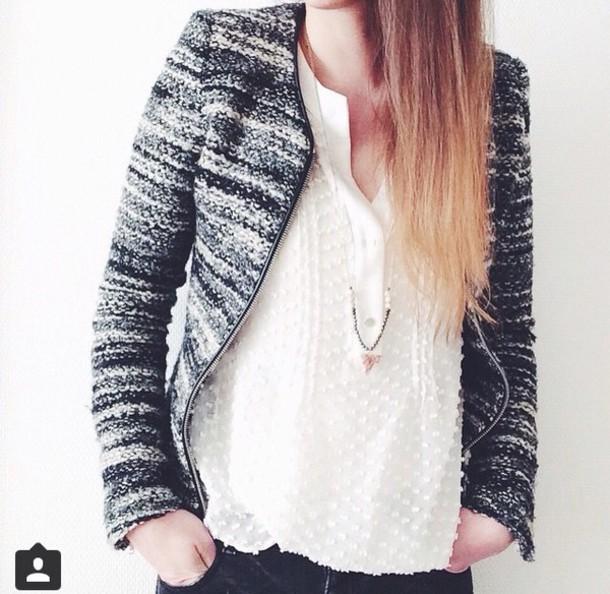 jacket black jacket grey jacket fashion blazer smart casual style