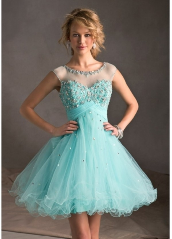 Mint Bridesmaid Dress Mint Prom Dress Baby Blue Prom By