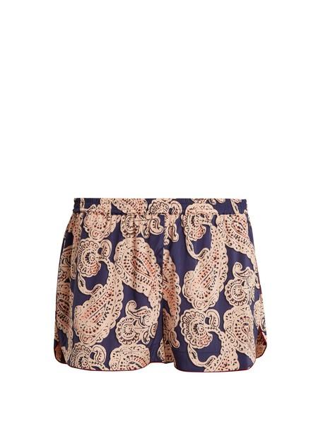 STELLA MCCARTNEY LINGERIE shorts pyjama shorts print paisley