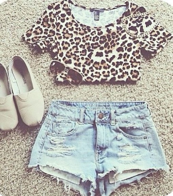 shorts denim shorts shirt cute outfits