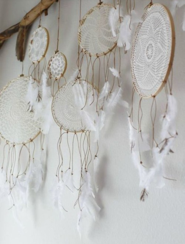 home accessory beach house dreamcatcher boho white home decor home decor art our favorite home decor 2015 boho decor