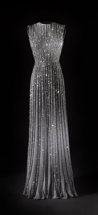 dress glitter dress glamour long dress prom dress sparkly dress