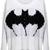 ROMWE | Knitted Bat Print Rivet White Jumper, The Latest Street Fashion