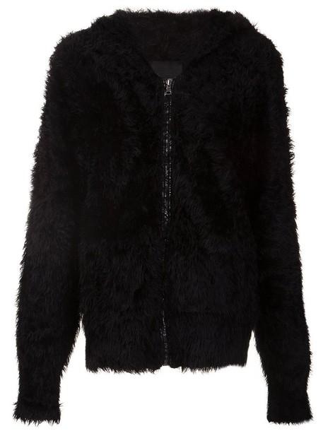 cardigan cardigan zip women black sweater