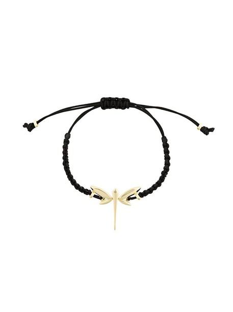 Anapsara women braided dragonfly gold black yellow jewels