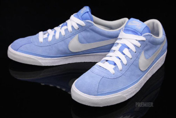 shoes nike sneakers light blue trainers nike running shoes pastel sneakers