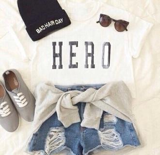 shirt white t-shirt white hero weheartit