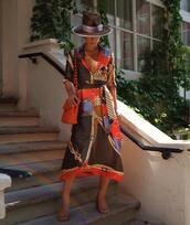 shoes,mules,midi dress,printed dress,hat,shoulder bag,chain necklace
