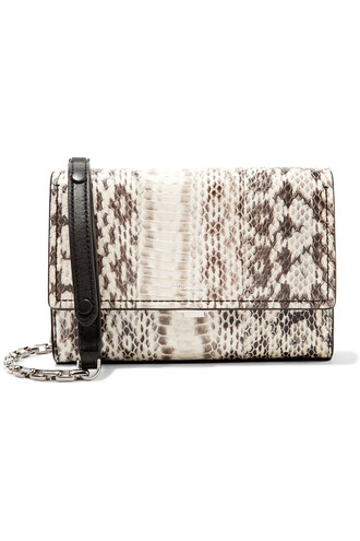 bag python snake shoulder bag michael kors michael kors bag