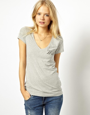 Jack Wills | Jack Wills V Neck T-Shirt at ASOS