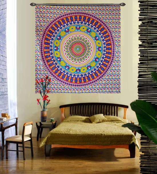 home accessory hippie tapestry mandala tapestry vintage tapestry wall hanging tapestry wall tapestry home decor sun and moon tapestry