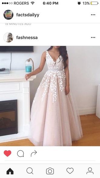 dress gown prom dress ball gown dress nude dress