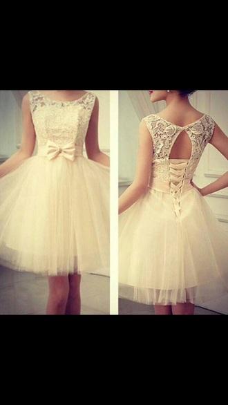 dress white dress pretty cute white