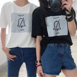 shirt black white funny cool summer boogzel