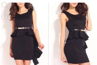 dress black dress black mini dress
