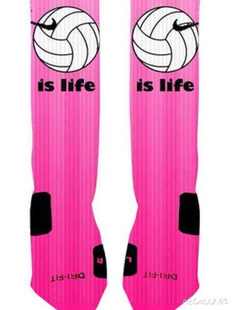 socks volleyball