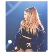 jacket,ariana grande,hoodie,crop tops,tights,top,shorts,sweater,navy,ariana sweater