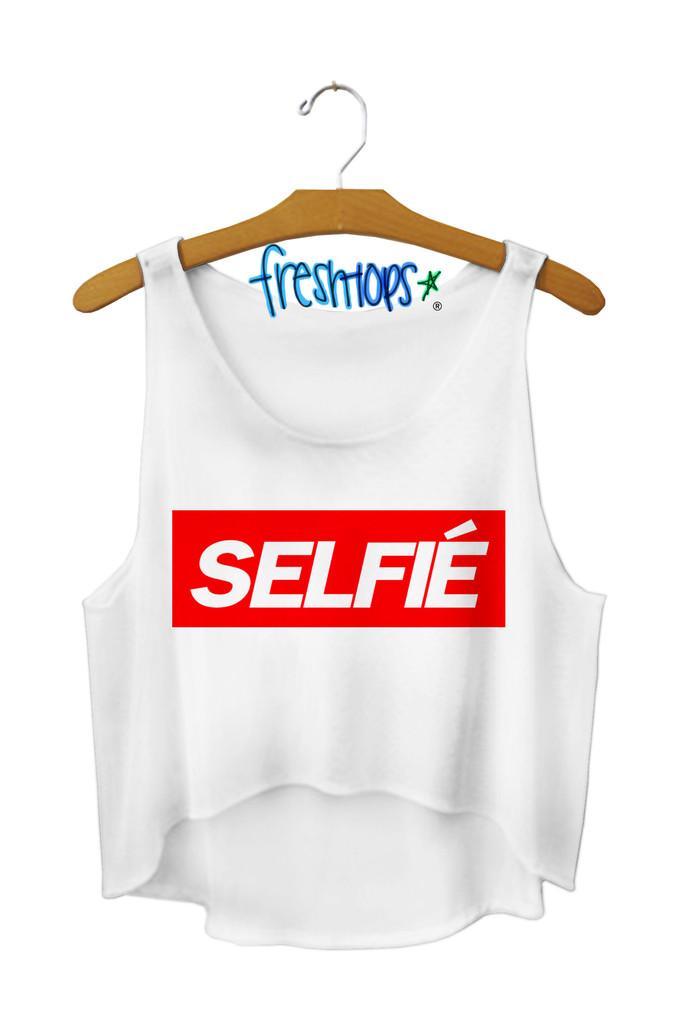 Selfie Crop Top - Fresh-tops.com