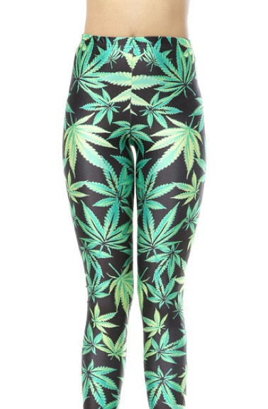 Woah Dude Got Some? Print Leggings – Glamzelle
