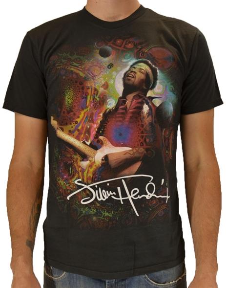 Hendrix Angel-Jimi Hendrix Rock T-Shirts | ShopRockAmerica.com