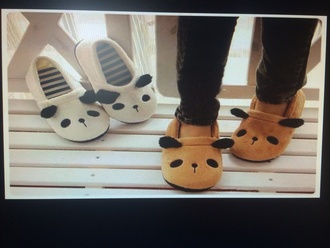 shoes moccasins slippers bear feet