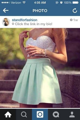 top crop tops embellished style girly fashion skirt crop white crop tops