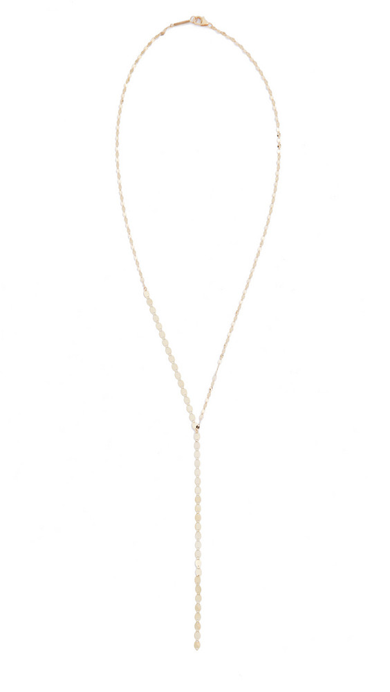 Lana Jewelry 14k Nude Lariat Necklace in gold / yellow