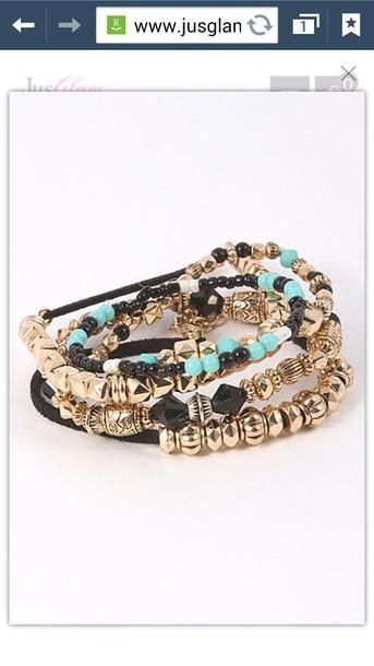 jewels bangle bracelets gold bracelet beaded beaded bracelet accessories