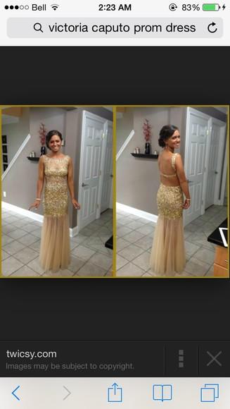 prom dress dress gold gold sequins