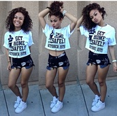 india westbrooks,curly hair,cropped,the westbrooks,shorts,shoes,blouse,shirt,crop tops,pretty,nike,cut offs,top