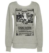 sweater,david,bowie,David Bowie,dance magic dance,dance,labyrinth,1980s,1986,80s style,grey,black,british,long sleeves,pullover,warm,cute,winter outfits,font,quote on it,song,picture,jareth,goblin,king,retro,european,pop,music,artist,square,u-neck,scoop neck,thermal,unisex,shirt,classic,timeless