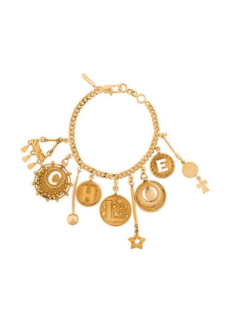 Chloe women charm bracelet grey metallic jewels