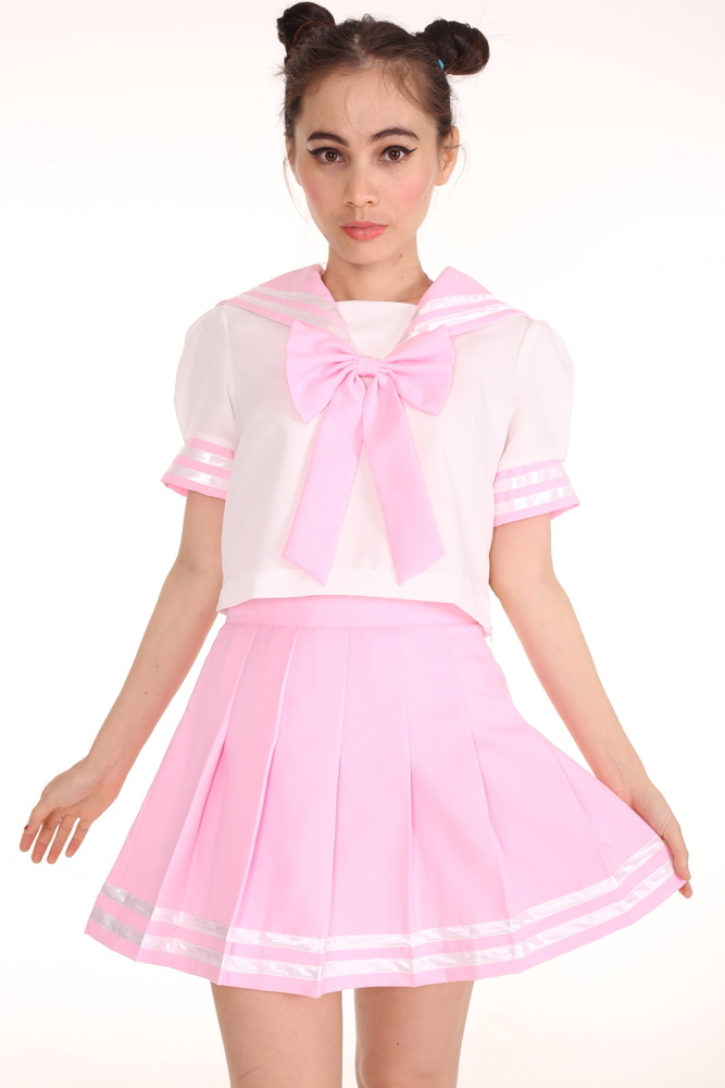 Glitters For Dinner — In stock - Sailor Moon Inspired 2 Piece Set in Pink