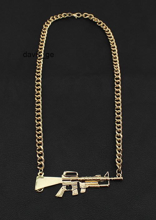Fashion Gold Tone Jewelry Stuff Chain 16