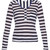 Le Nautical long-sleeved linen top
