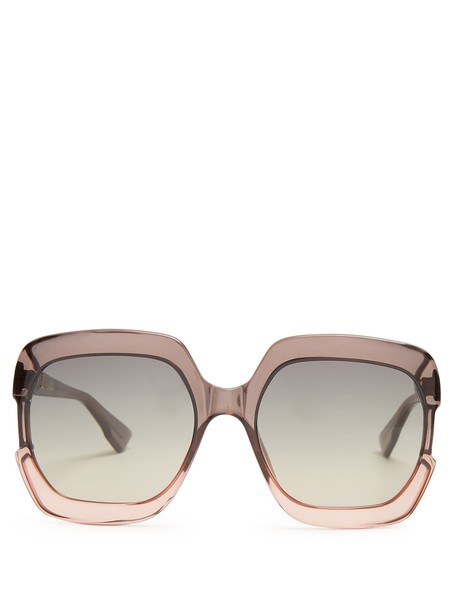 dior sunglasses grey