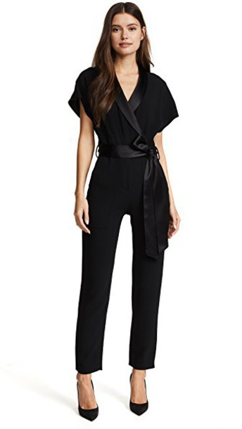 Haney jumpsuit black