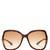 Stephanie oversized square-frame sunglasses
