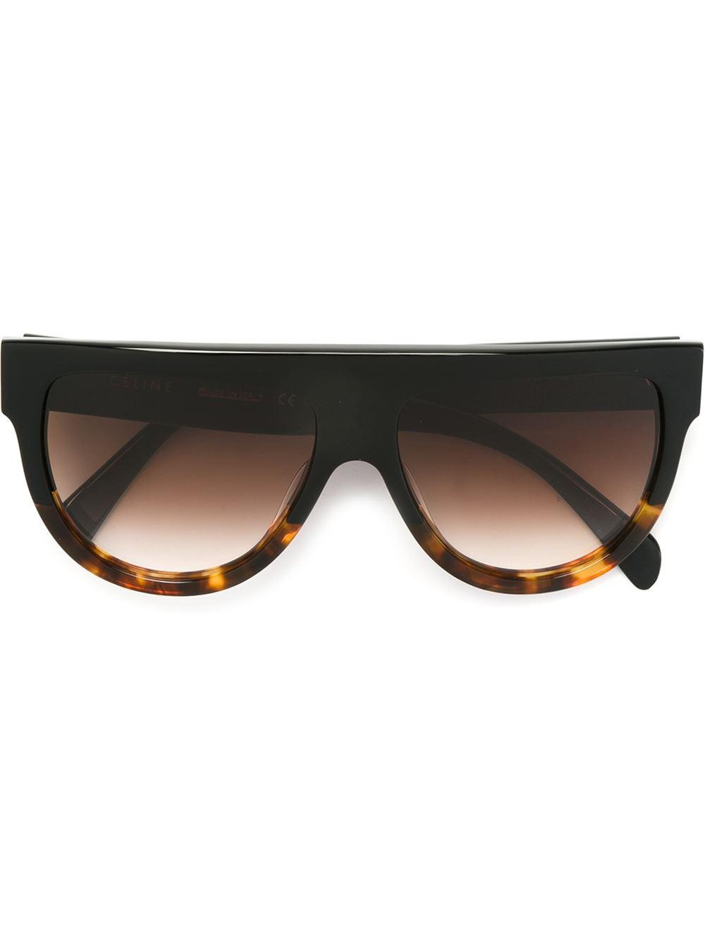 bf9b299a8 Céline Eyewear 'Shadow' Sunglasses - Farfetch