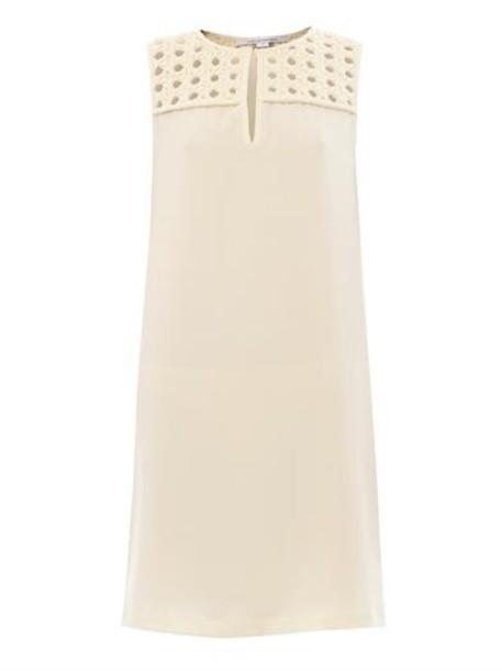 dress hope dress peal-cream cream diane von furstenberg