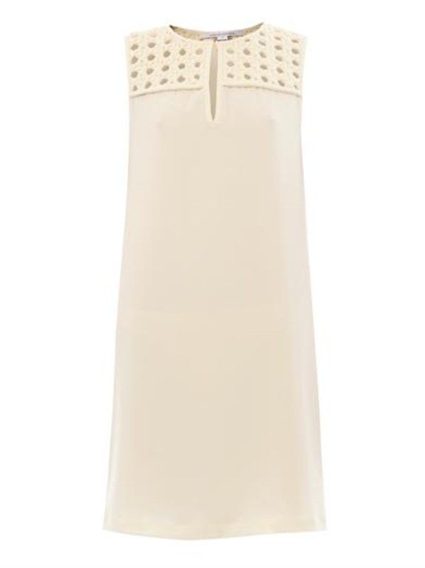 dress hope dress peal-cream cream diane von furstenberg