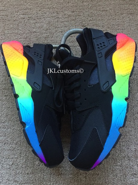 shoes, sneakers, nike, huarache