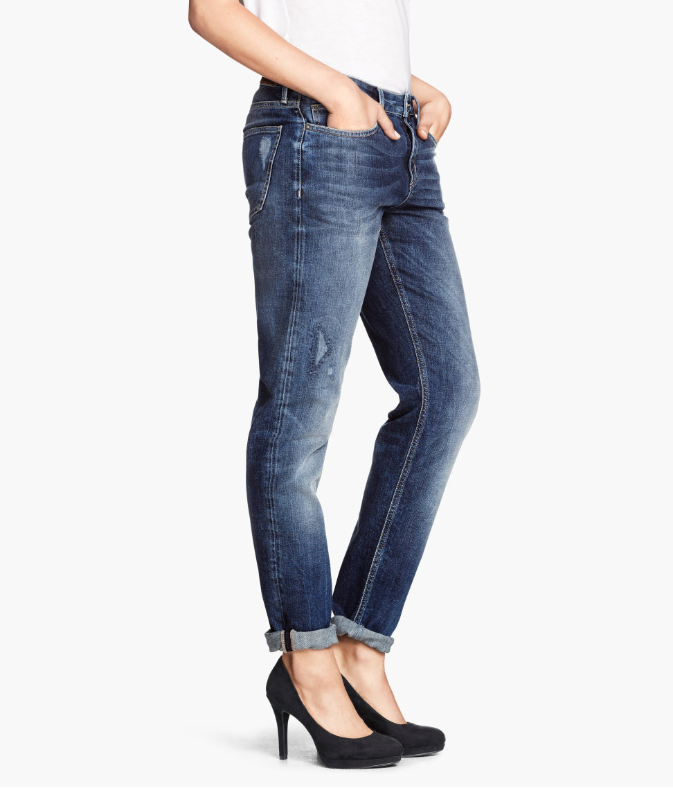 H&M Boyfriend Low Jeans € 39,99