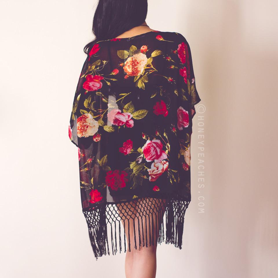 Truly Something Special Kimono – Honey Peaches