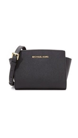 mini bag messenger bag black