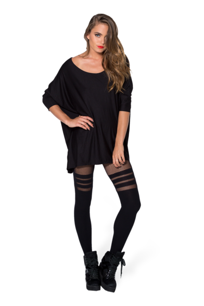Sporty Stripes Hosiery › Black Milk Clothing
