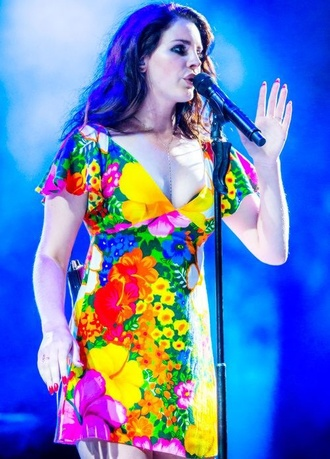 lana del rey dress shades of cool