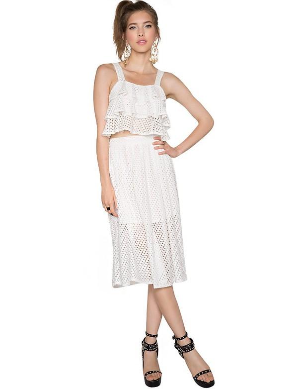 dress lace separates white lace dress white dress affordable clothes pixie market pixie market girl