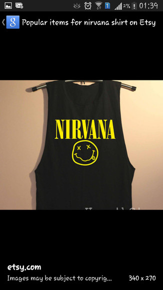 crewneck muscletee nirvana top nirvana tank top