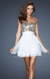 La Femme 18445 Dress - 2014